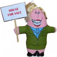 Pocket Realtor Doll